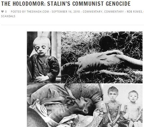 HOLODOMOR STALIN's Communist GENOCIDE 01