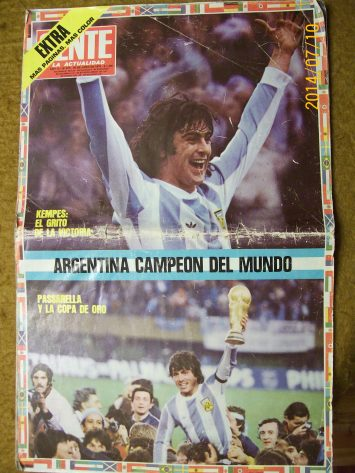 ARGENTINA CAMPEON 1978 -01