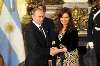 CFK y PUTIN