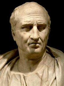 Marco Tulio Ciceron (106-Aunque su carrera política fue notable, Cicerón es especialmente conocido como el orador más elocuente de Roma aC )