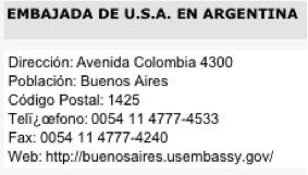PALACIO DEL EMBAJADOR NORTEAMERICANO EN ARGENTINA