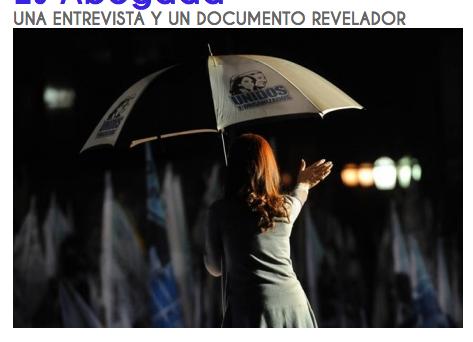 Cristina Fernadez Kirchner MINTIÓ ... ELLA NO ES ABOGADA