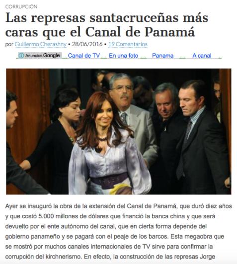 DIQUES MAS CAROS que ANILLACO y PANAMA JUNTOS
