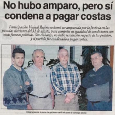 AMPARO POR DERECHOS PERSONALES (Habeas Corpus) y DERECHOS POLITICOS VECINALES COLECTIVOS (https://wp.me/p2jyBb-1za)